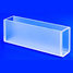 Glass cuvette (Russian standard) 100 mm, ECROS