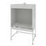 Cupboard for heating furnace (ceramic, white metal) 1210x870x1895 mm