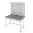 Titration bench with 1 wide drawer (durcon, white metal) 1200х640х1830 mm